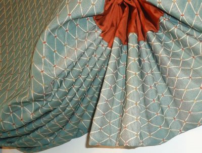 Balloon Valance with Lots of Fabric Volume
