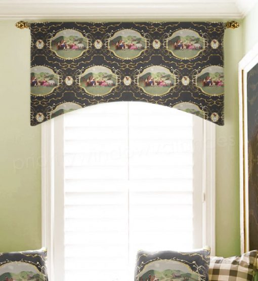 Arched Rod Pocket Valance