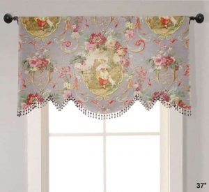 Scalloped Valance Custom
