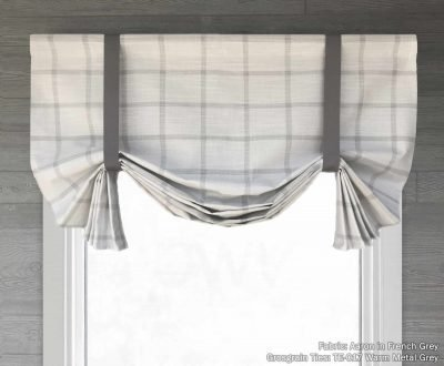 Aaron (Modern Farmhouse) Tailed Balloon Valance