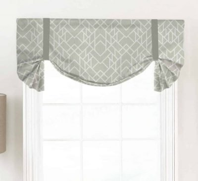 Alpine (Modern Geometric) Tailed Balloon Valance