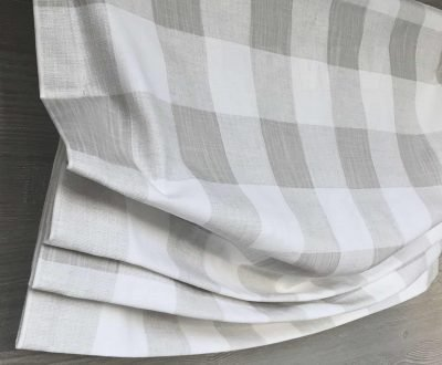 Anderson (Large Buffalo Check) Faux Relaxed Roman Balloon Valance