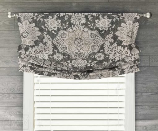 Belmont Faux Relaxed Roman Balloon Valance