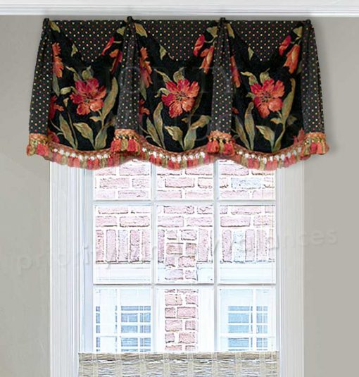 Board-Mounted Queen Valance