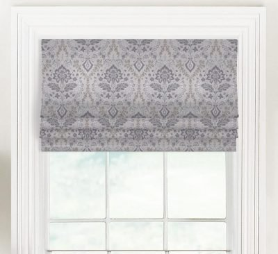 Brussels (Light Amethyst) Faux Roman Shade Valance