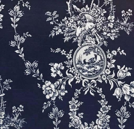 Country House in Indigo Blue (Sample)
