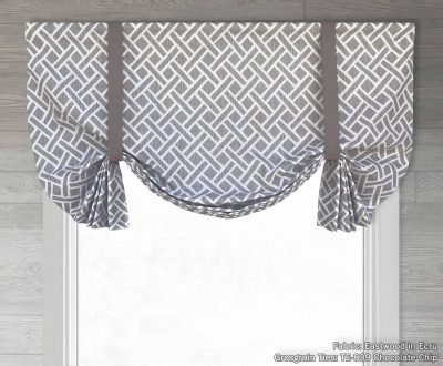 Eastwood (Classic Lattice) Tailed Balloon Valance