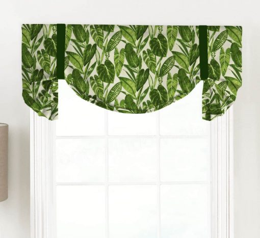Eden Tropical Tailed Balloon Valance