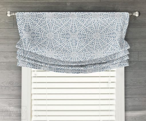 Galaxy Faux Relaxed Roman Balloon Valance