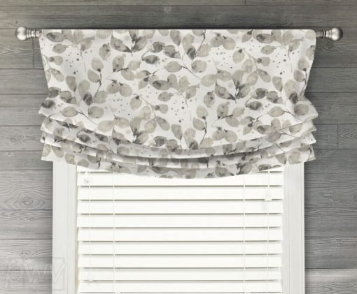 Grove Faux Relaxed Roman Balloon Valance