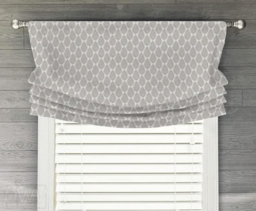 Jersey Faux Relaxed Roman Balloon Valance