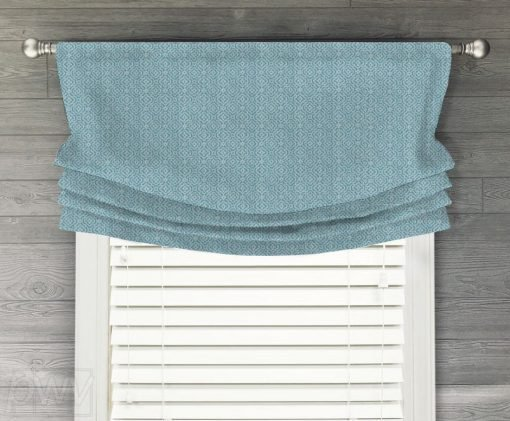Kennedy Faux Relaxed Roman Balloon Valance
