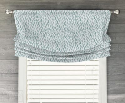 Lotus Faux Relaxed Roman Balloon Valance