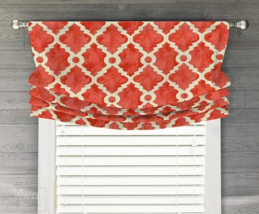 Madrid Faux Relaxed Roman Balloon Valance