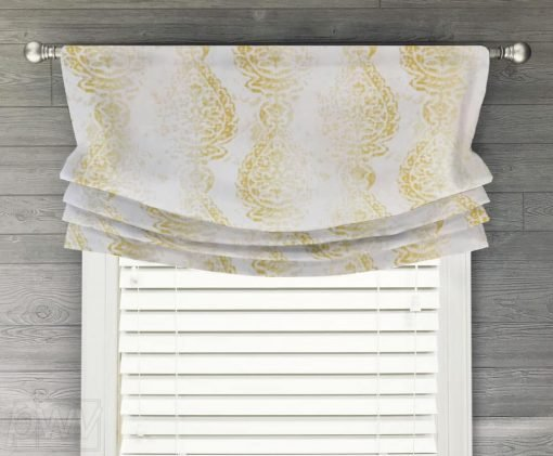 Manchester Faux Relaxed Roman Balloon Valance