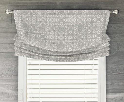 Miguel Faux Relaxed Roman Balloon Valance