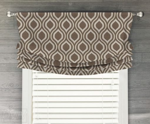 Nicole Faux Relaxed Roman Balloon Valance