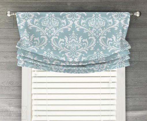 Ozbourne Faux Relaxed Roman Balloon Valance