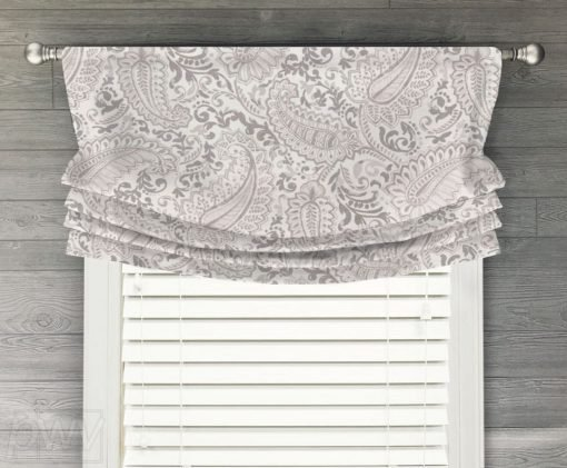 Shannon Faux Relaxed Roman Balloon Valance