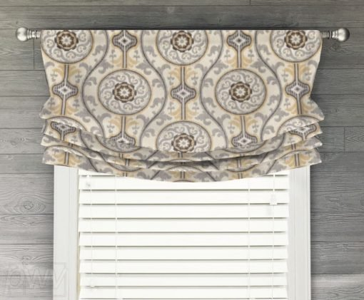 Oh Suzanni Faux Relaxed Roman Balloon Valance