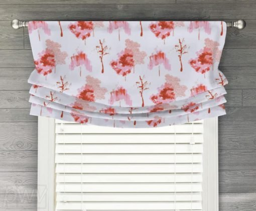 Sycamore Faux Relaxed Roman Balloon Valance