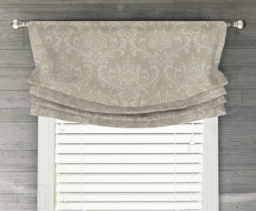 Traditions Faux Relaxed Roman Balloon Valance