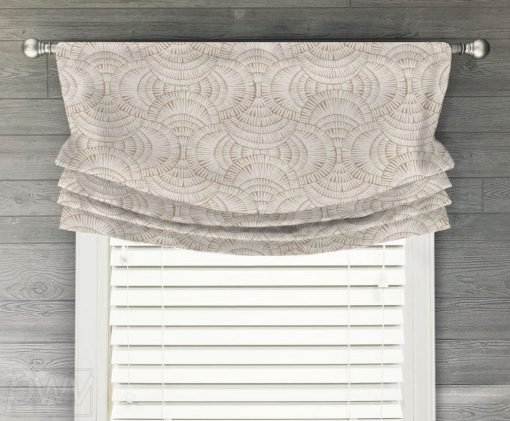 Vision Faux Relaxed Roman Balloon Valance